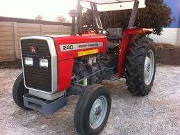 Massey Fugerson Tractor mf 240 2w,2disc plough and 1 year warranty .