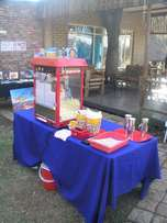 Popcorn Machine & Related Equipment Rental + Ingredients for making po