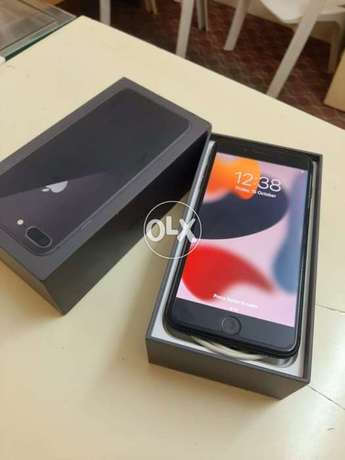 iPhone 8 Plus 64 gb with box and all accessories original with warrant