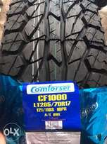 285/70R17 brand new comforser tyres A/T tubeless.