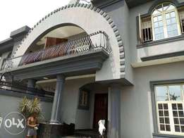 Psquare Mansion for Sale at Omole Phase 1 ( Twin Duplex of 5 Bedrooms)