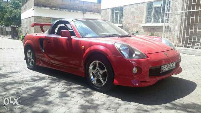 Toyota MR2 Convertible. Thindigwa - image 6