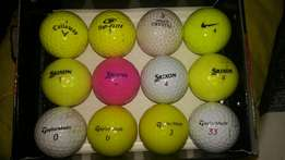 Assortment of golfballs - (Taylormade, Srixon, Nike, Callaway)