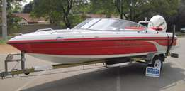 2008 Panache 1950 with 250hp Evinrude E-Tec