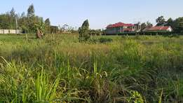 100x 100 at Kikuyu-Thogotto 200meters from tarmac in a developed area.