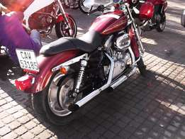 Harley Davidson Sportster 883 ?? The 2Wheelers Den, Of Course !!