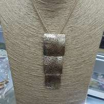 Gold and silver long chain