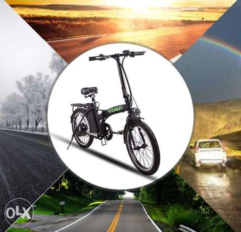 Nakto 20 Inch 250W Foldable Electric Bike with Removable 36V 10AH Lith