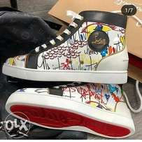 Nice Louboutin touch of colours sear