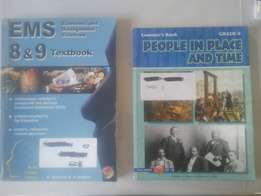 Grade 8 and 9 text books
