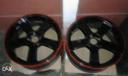 17inch rims with tyres