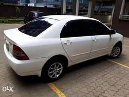 XMAS FAMILY CAR, White low mileage Corolla NZE, in excellent condition