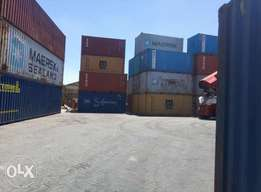 20' seaworthy containers units