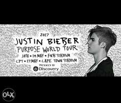 Any offer welcome_Justin Bieber_Golden Circle ticket for sale