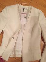 Новый белый пиджак adl 8fe1f4c5c6237