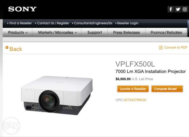 Sony projectors City Centre - image 1