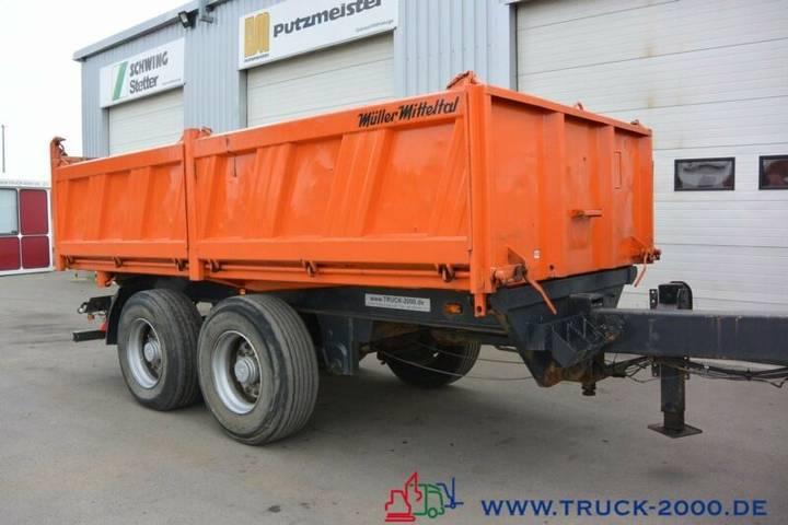 Mueller Mitteltal KA-TA 18 Tandem 3 Seitenkipper NL 13.400 kg SAF - 2002