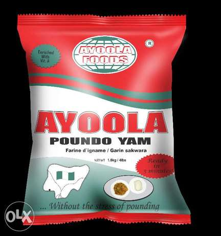 AyoolaPoundo! What a Miracle Meal!! Ready in 5Minutes Ipaja - image 1