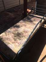 Steel bed/sofa for sale