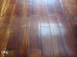 Parquet flooring wooden flooring sand and seal