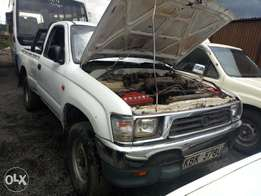 Toyota hilux 4wheel.
