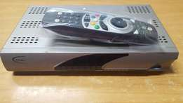 Dstv decorder with remote