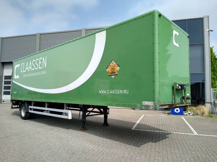 Pacton Citytrailer / Box / APK-TUV / Loadlift - 2000
