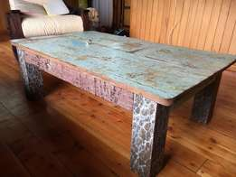 Antique dhow coffee table (Boho house)