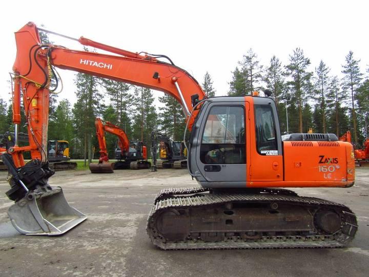 Hitachi Zx160lc Pikakiinnike, Kallistuva Kauha - 2002