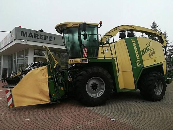 Krone big x 650 - 2008