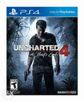 Uncharted 4 a thief end ps4(used)