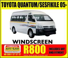 Windscreens on special