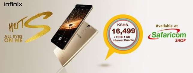 Announced 3wks ago INFINIX HOT S, 40% OFF. 4pcs lef Nairobi CBD - image 8