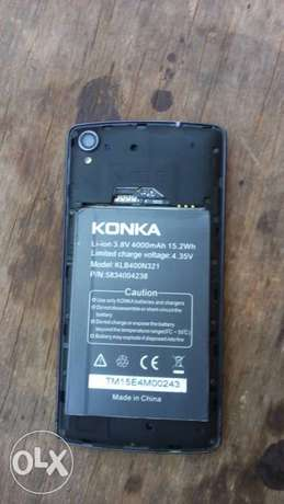 Konka Android phone 4000Amh battery Abeokuta South - image 1