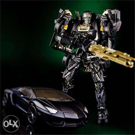 "8"" kbb transformers supersonic mithril edition"