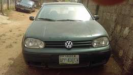 Volkswagen Golf (2001)Manual
