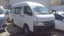 Toyota Hiace High Roof available for sale.