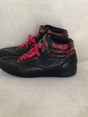 Buty Damskie Sportowe Reebok Czarno różowe rozmiar 39
