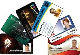 Plastic cards printing - Staff Identification Cards