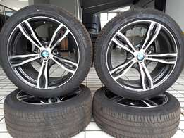 BMW X3 Mags and Tyres for sale!! LIKE NEW!!