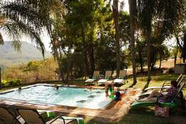 Accomodation- Easter 14th to 21April 2017 - Waterberry Hill, Hazeyview