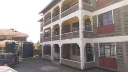 3 bedroom master en suite apartment to let at Kiamunyi