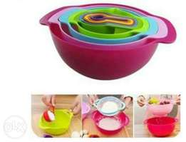 Measuring bowls cups and spoons