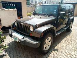 Wrangler Jeep Unlimited 2010 for sale