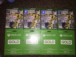 New FIFA 17 and 12 Months Gold Membership