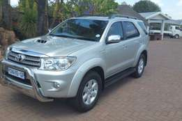 209 Toyota Fortuner 3.0D 4D 4x4 for sale