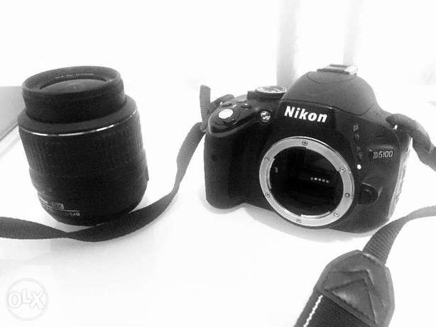 NIKON D5100 + 18-55mm Lens : PERFET CONDITION
