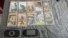 PSP with 4Gb memory stick and charger for R1700 with 10 games for free