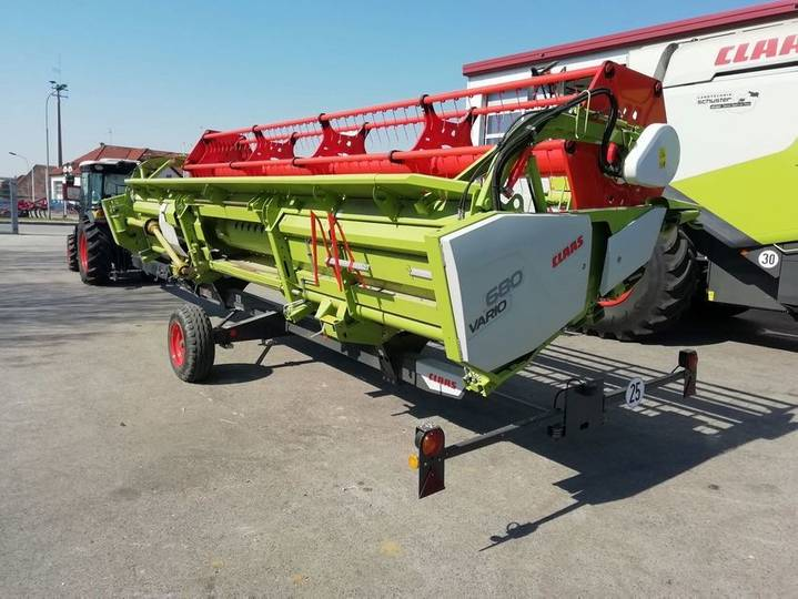 Claas Lexion 670 (stage Iv) - 2018