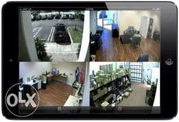 CCTV remote view on Phones and Tablets